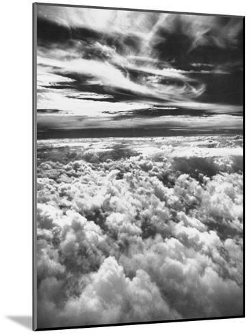 Thick, Dark Clouds Standing Still in the Sky-Fritz Goro-Mounted Photographic Print