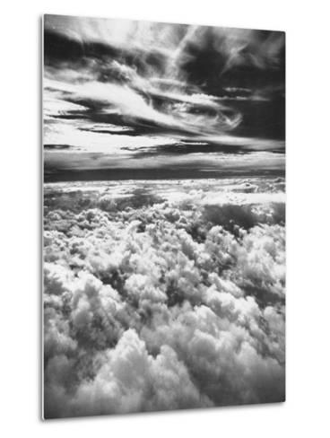 Thick, Dark Clouds Standing Still in the Sky-Fritz Goro-Metal Print
