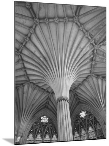 Fluted Columns of the Wells Cathedral-Dmitri Kessel-Mounted Photographic Print
