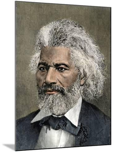 Frederick Douglass Portrait--Mounted Giclee Print