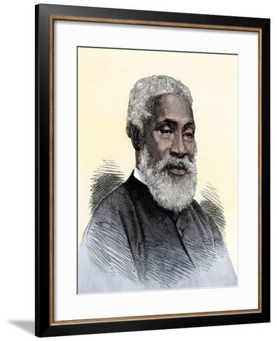"Josiah Henson, the Black Slave Alleged to Have Been Harriet Beecher Stowe's Model for ""Uncle Tom""--Framed Art Print"
