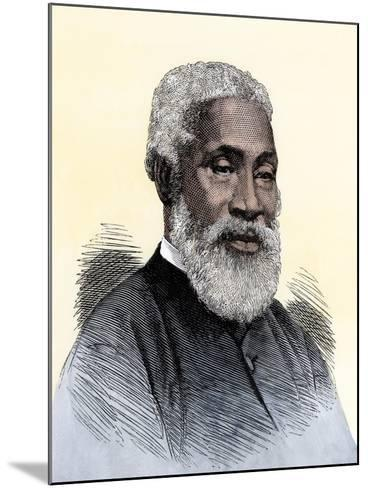 "Josiah Henson, the Black Slave Alleged to Have Been Harriet Beecher Stowe's Model for ""Uncle Tom""--Mounted Giclee Print"