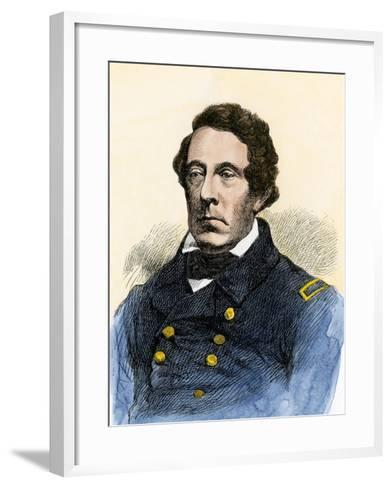 Matthew Perry, Commodore, Us Navy--Framed Art Print