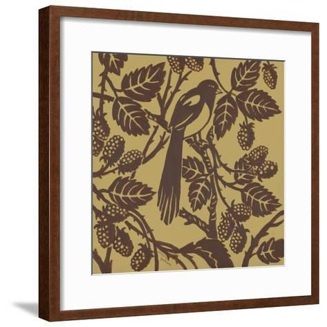 Bird Song IV-Gregory Gorham-Framed Art Print