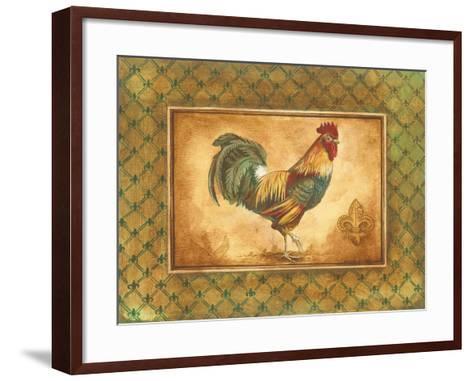Country Rooster I-Gregory Gorham-Framed Art Print