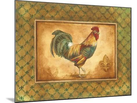 Country Rooster I-Gregory Gorham-Mounted Premium Giclee Print