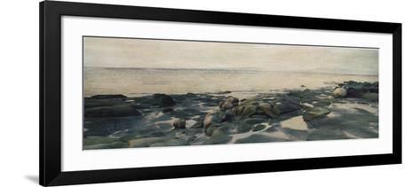 Rocky Shores II-Amy Melious-Framed Art Print