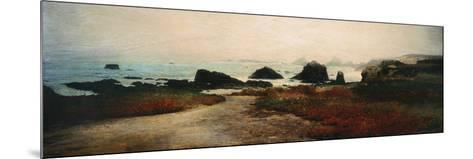 Island Shores II-Amy Melious-Mounted Premium Giclee Print