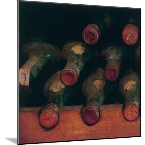 Vintage Wine Cellar I-Amy Melious-Mounted Premium Giclee Print