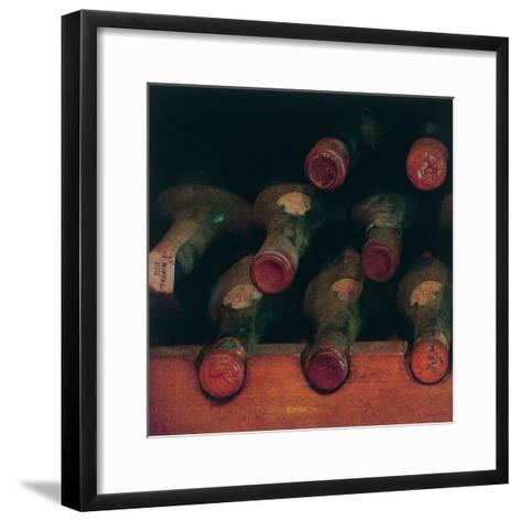 Vintage Wine Cellar I-Amy Melious-Framed Art Print