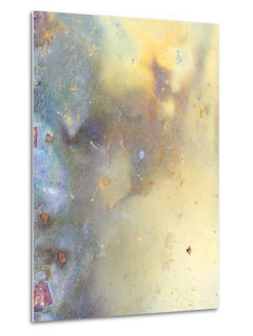 Close Up of Slate, Easdale, Scotland, UK-Niall Benvie-Metal Print