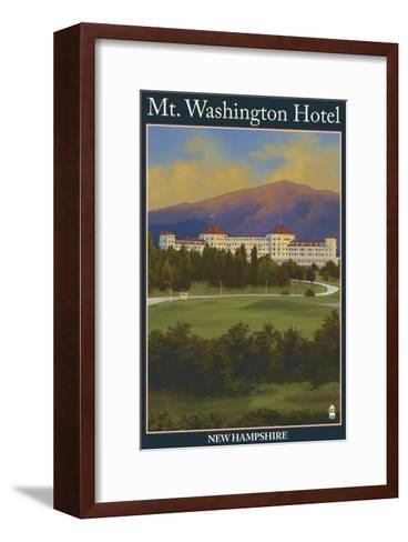 Mt. Washington Hotel, Bretton Woods, Nh, c.2008-Lantern Press-Framed Art Print