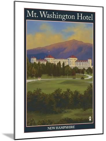 Mt. Washington Hotel, Bretton Woods, Nh, c.2008-Lantern Press-Mounted Art Print