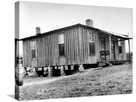 "Home in the Mississippi River Area, Where Richard Wright Wrote the Book Called ""Black Boy""-Ed Clark-Stretched Canvas Print"
