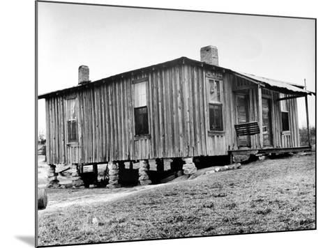"Home in the Mississippi River Area, Where Richard Wright Wrote the Book Called ""Black Boy""-Ed Clark-Mounted Photographic Print"