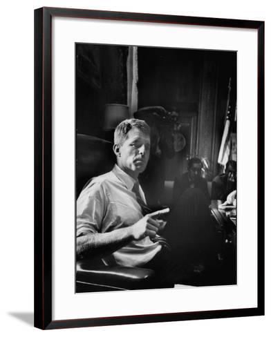 Attorney General Robert F. Kennedy-Ed Clark-Framed Art Print