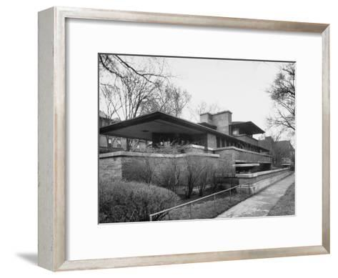 Exterior of Robie House Designed by Frank Lloyd Wright--Framed Art Print