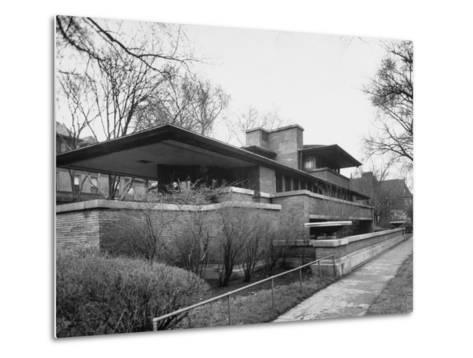 Exterior of Robie House Designed by Frank Lloyd Wright--Metal Print