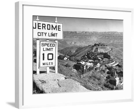 Views of Jerome-Bob Landry-Framed Art Print