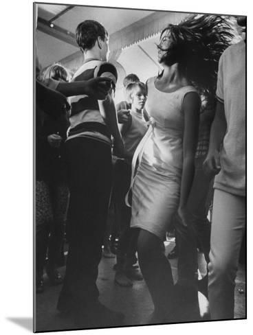 Teenagers Dancing at TV's Hullaballoo Scene--Mounted Photographic Print