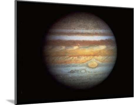 First True-Color Photo of Planet Jupiter Taken from Hubble Space Telescope--Mounted Photographic Print