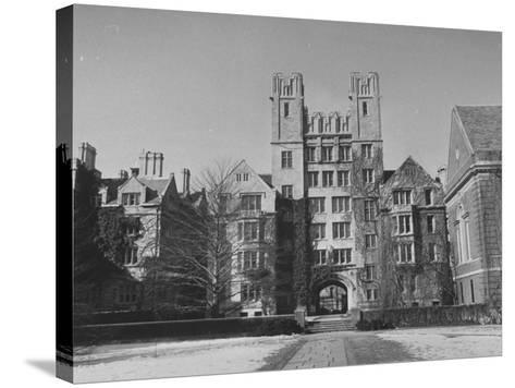 Yale University-Peter Stackpole-Stretched Canvas Print