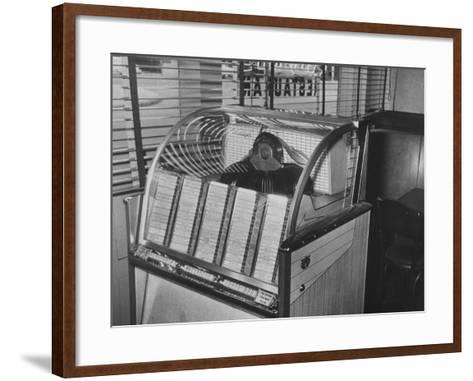 Jukebox Machine--Framed Art Print