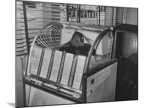 Jukebox Machine--Mounted Photographic Print