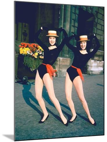Dancer Twins Ellen and Alice Kessler of English Bluebell Troupe-Loomis Dean-Mounted Photographic Print