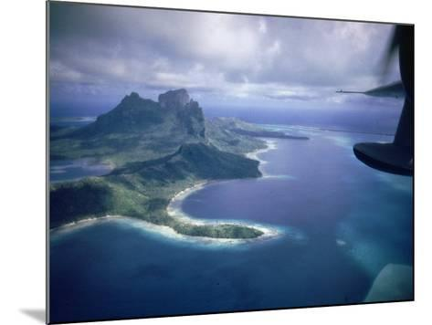 Island of Bora Bora; Part of South Seas Photo Essay--Mounted Photographic Print
