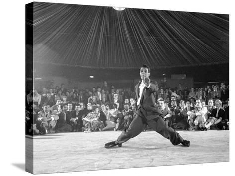 Professional Dancers Performing the Mambo-Yale Joel-Stretched Canvas Print
