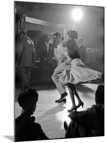 Professional Dancers Performing the Mambo-Yale Joel-Mounted Photographic Print