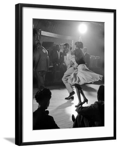 Professional Dancers Performing the Mambo-Yale Joel-Framed Art Print