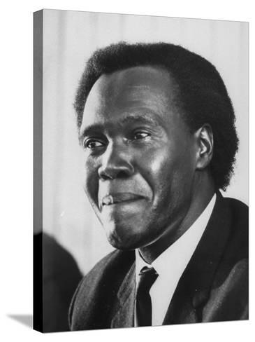 Pres. Milton Obote of Uganda--Stretched Canvas Print