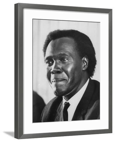 Pres. Milton Obote of Uganda--Framed Art Print