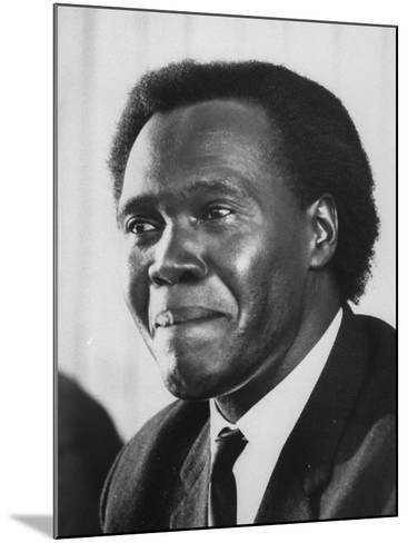 Pres. Milton Obote of Uganda--Mounted Photographic Print