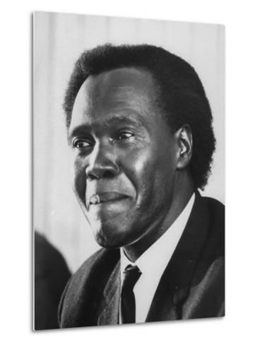 Pres. Milton Obote of Uganda--Metal Print