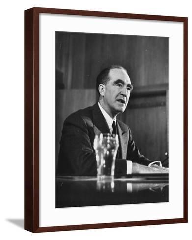 US Supreme Court Nominee Frank Murphy--Framed Art Print