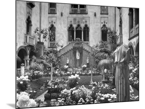 Garden of Isabella Stewart Gardner's Home--Mounted Photographic Print