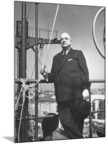 Ship Builder Henry J. Kaiser-Hansel Mieth-Mounted Photographic Print