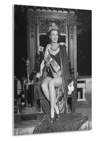 Atlantic City Beauty Contest Winner Venus Ramey-Peter Stackpole-Metal Print