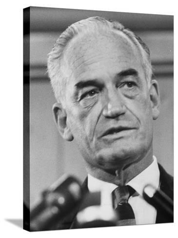 Sen. Barry Goldwater Campaigning for Gop Presidential Nomination at the Illinois State Convention--Stretched Canvas Print