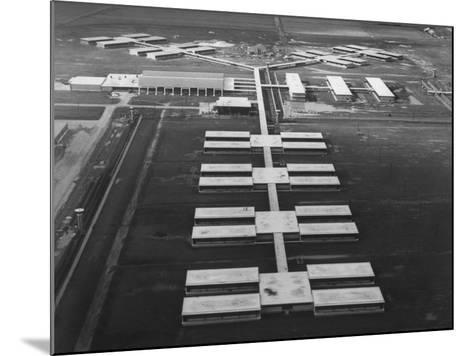 New Prison Buildings at the Louisiana State Penitentiary at Angola--Mounted Photographic Print