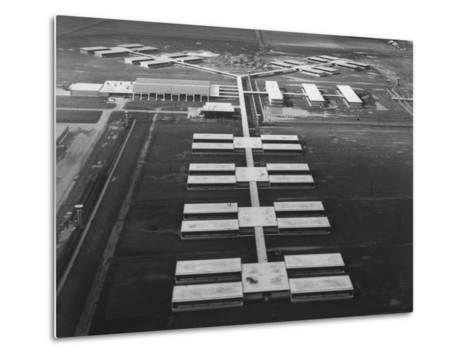 New Prison Buildings at the Louisiana State Penitentiary at Angola--Metal Print