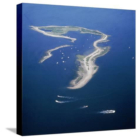 Cockenoe Island in Long Island Sound, Now a Park Off Westport, Connecticut. 1970--Stretched Canvas Print