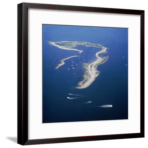 Cockenoe Island in Long Island Sound, Now a Park Off Westport, Connecticut. 1970--Framed Art Print