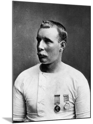 Champion English Swimmer Matthew Webb--Mounted Premium Photographic Print