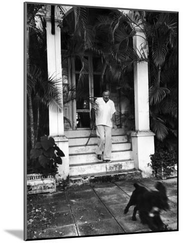 Ernest Hemingway-Alfred Eisenstaedt-Mounted Premium Photographic Print