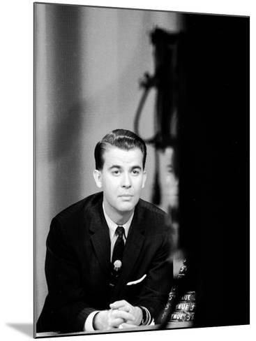 """American Bandstand"" Host Dick Clark--Mounted Premium Photographic Print"
