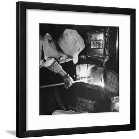 Furnace Conversion from Oil to Coal--Framed Art Print
